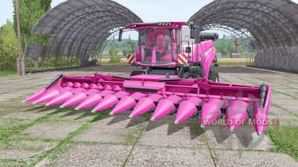 New Holland CR10.90 pink for Farming Simulator 2017