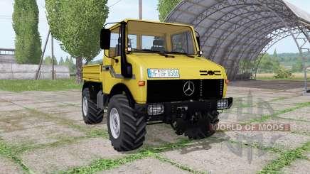 Mercedes-Benz Unimog U2100 v3.1 for Farming Simulator 2017