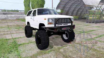 Ford Bronco XLT (U150) 1981 for Farming Simulator 2017
