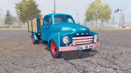 Opel Blitz v1.1.2 for Farming Simulator 2013