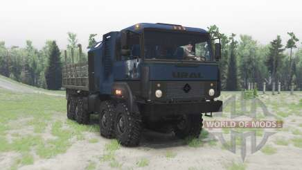 Ural 5323 blue for Spin Tires