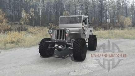 Willys MB off-road v1.1 for MudRunner