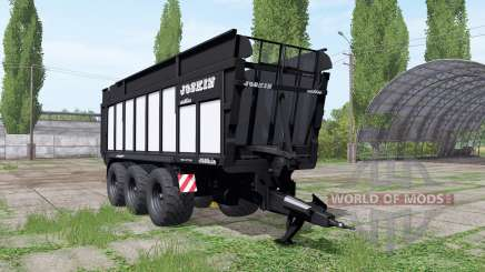 JOSKIN DRAKKAR 8600 black for Farming Simulator 2017