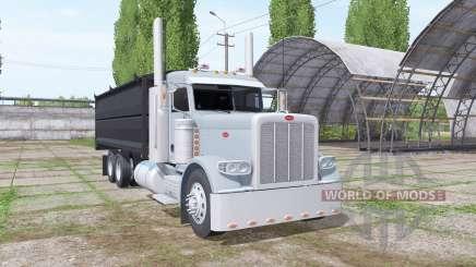 Peterbilt 389 grain truck for Farming Simulator 2017
