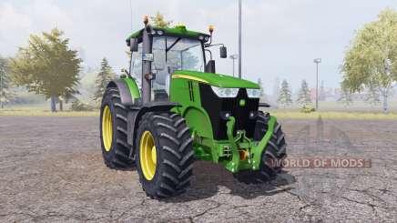 John Deere 7200R v2.0 for Farming Simulator 2013