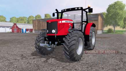 Massey Ferguson 6480 front loader for Farming Simulator 2015