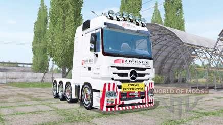 Mercedes-Benz Actros 4160 SLT (MP3) for Farming Simulator 2017