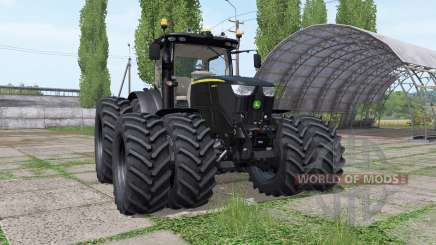 John Deere 6250R black v2.4 for Farming Simulator 2017