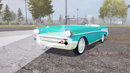 Chevrolet Bel Air convertible (2434-1067D) 1957 for Farming Simulator 2013