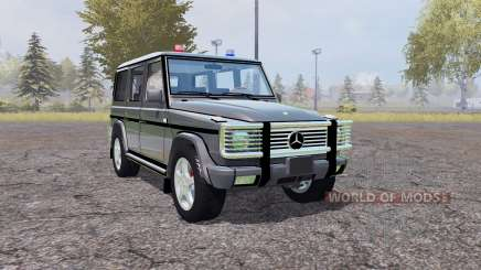 Mercedes-Benz G500 (W463) Unmarked Police for Farming Simulator 2013