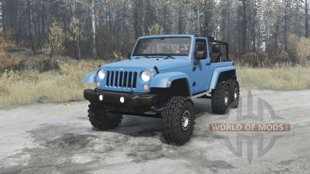 Jeep Wrangler (JK) 6x6 turbo for MudRunner