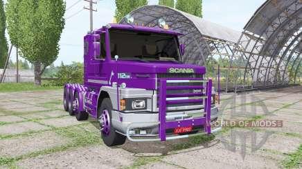 Scania T112HW 8x8 for Farming Simulator 2017