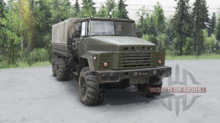 KrAZ 260 for Spin Tires