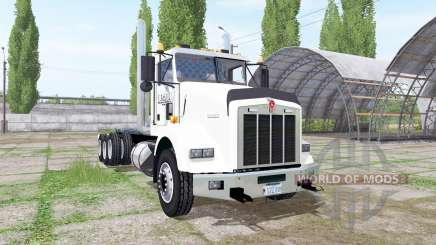 Kenworth T800 8x4 hooklift for Farming Simulator 2017