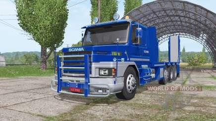 Scania T112E 8x8 for Farming Simulator 2017