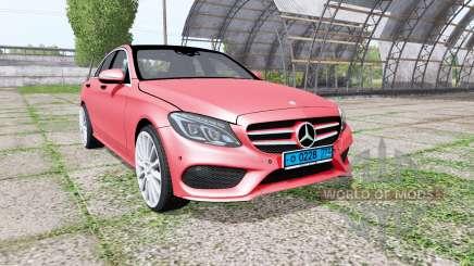 Mercedes-Benz C 250 AMG (W205) v1.1 for Farming Simulator 2017