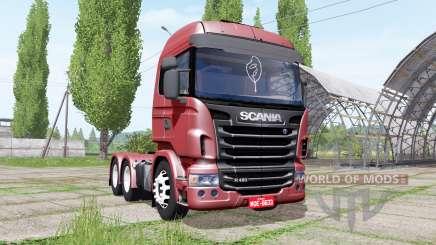 Scania R480 for Farming Simulator 2017