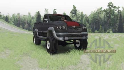 UAZ 27602 for Spin Tires