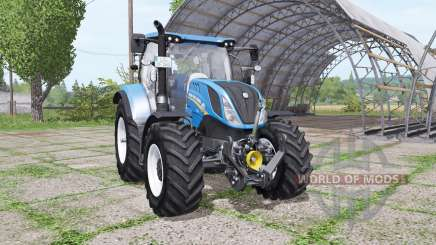 New Holland T6.140 v1.1 for Farming Simulator 2017