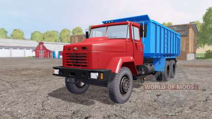 KrAZ 6130С4 1997 for Farming Simulator 2015