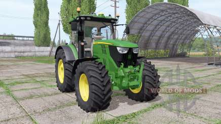 John Deere 6215R v2.3 for Farming Simulator 2017