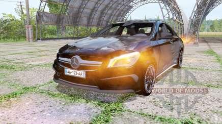 Mercedes-Benz CLA 45 AMG (C117) Black Edition for Farming Simulator 2017