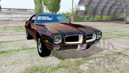 Pontiac Firebird 1970 Cyber Red for Farming Simulator 2017