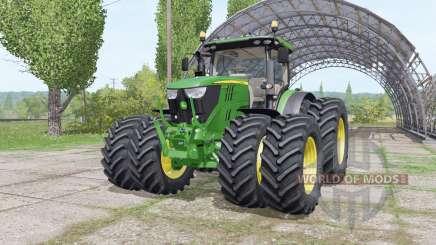 John Deere 6175R v3.0 for Farming Simulator 2017