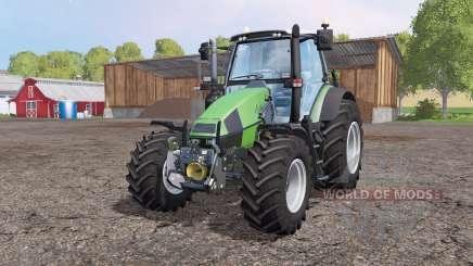 Deutz-Fahr Agrotron 120 Mk3 front loader for Farming Simulator 2015