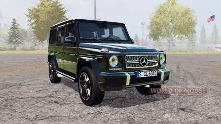Mercedes-Benz G 65 AMG (W463) for Farming Simulator 2013