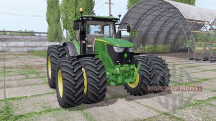 John Deere 6155R v2.9 for Farming Simulator 2017