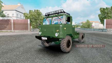 GAZ 66 for Euro Truck Simulator 2