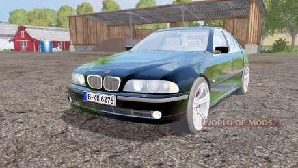 BMW 540i sedan (E39) 1996 for Farming Simulator 2015