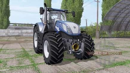 New Holland T7.315 BluePower v1.1 for Farming Simulator 2017