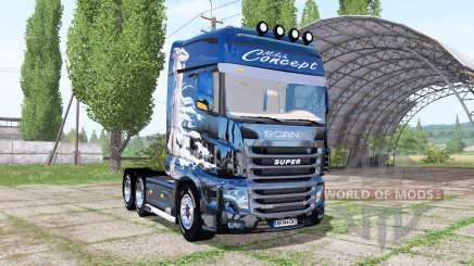 Scania R700 Evo Milch Concept for Farming Simulator 2017