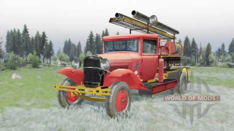 GAZ AA PMG-1 1932 for Spin Tires