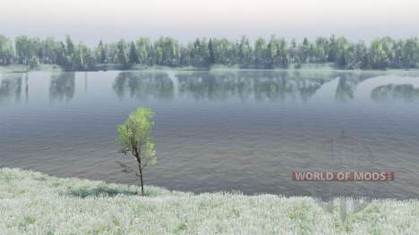 Lake Baikal for Spin Tires