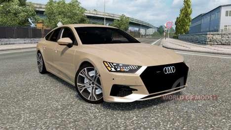 Audi A7 Sportback 2018 for Euro Truck Simulator 2