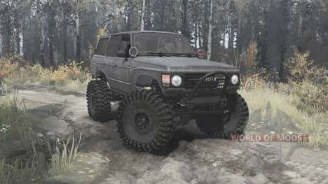 Toyota Land Cruiser 60 (HJ60V) 1980 for Spintires MudRunner