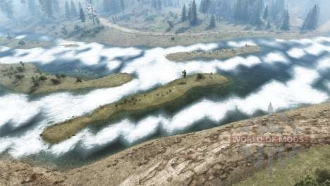 Tributary Of The Angara for Spintires MudRunner