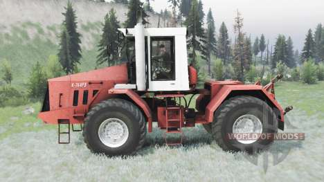 Kirovets K 744R3 for Spin Tires