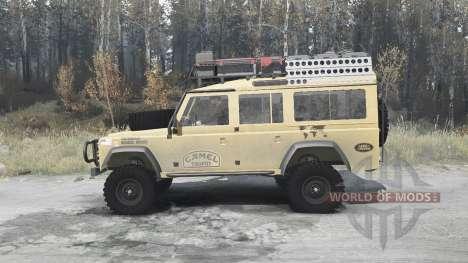 Land Rover Defender 110 Station Wagon for Spintires MudRunner