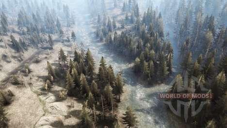 Siberian district for Spintires MudRunner