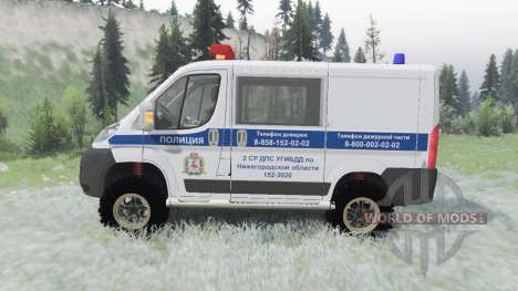 Fiat Ducato combi (250) 2006 ДПС for Spin Tires