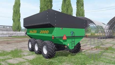 Balzer 2000 Tridem for Farming Simulator 2017