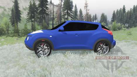 Nissan Juke (YF15) 2011 for Spin Tires