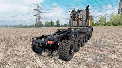 MAZ prototype 12x12 for Euro Truck Simulator 2