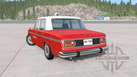 Ibishu Miramar Taxi v1.02 for BeamNG Drive