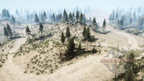 Rock crawlin trail for Spintires MudRunner