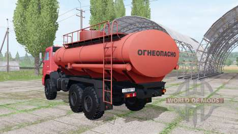 KAMAZ 43118-46 Flammable for Farming Simulator 2017